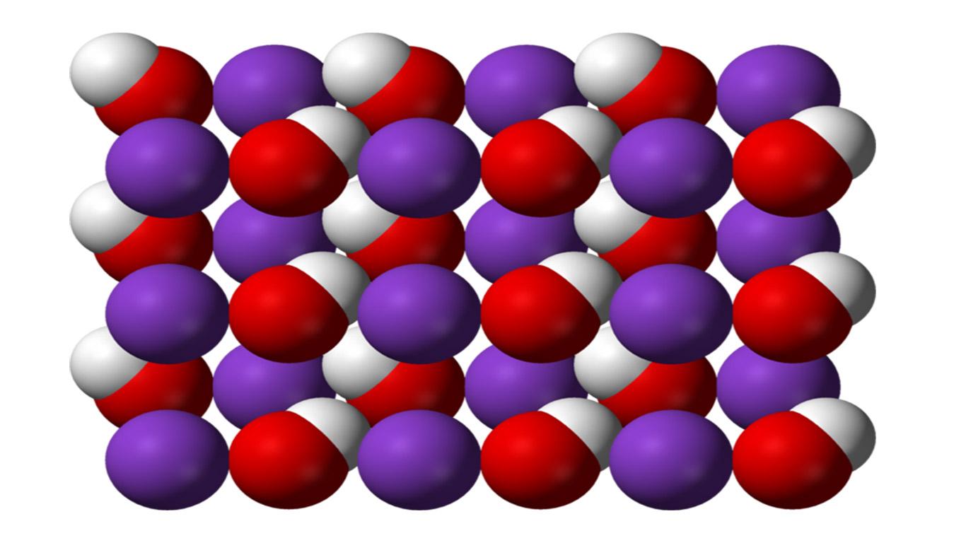 Cấu-trúc-phân-tử-KOH